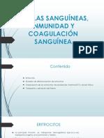Células Sanguíneas, Inmunidad y Coagulación Sanguínea (1)