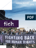 FIDH ANNUAL REPORT 2016