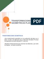 Transformaciones Geome_tricas Planas