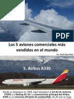6_Efraín Rojas Mata Los 5 aviones comerciales más vendidos en el mundo.pptx