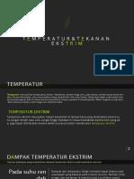 Temperature Dan Tekanan Ekstrim