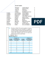 Novena Asignación de Estadística Aplicada a La Ingeniería Química 2017 II