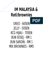 Aiskrim Malaysia