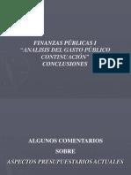 Analisis Del Gasto Público Presupuesto 20.11.15