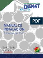 DISMAT Manual Inst Tuberias PVC