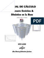 Manual de Análisis Cortante Estatico y Dinamico