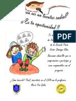 Afiche Radio Escolar