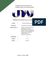 Diseño de Tejidos Informe Tejidop Plano g1 y g2