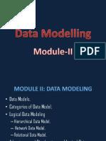 Module II Data Modeling