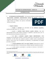 Organização da Administração III - Fernanda Marinella