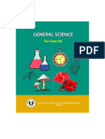 Class VI-English Version- General Science