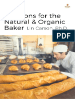 Solutions for the Natural and Organic Baker Final