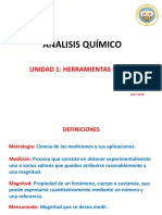 Herramientas básicas análisis químico