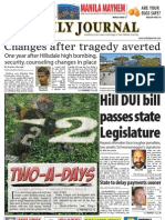 0824 issue of the Daily Journal