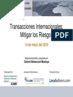 Transacciones Internacionales presentacion