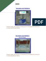 Equipos Utilizados - Tecnología de Concreto