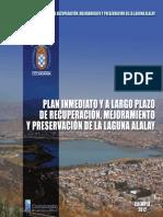 Plan de Recuperacion Laguna Alalay