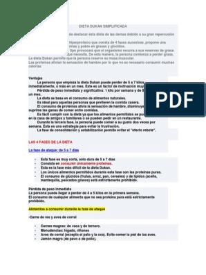 descargar dieta dukan pdf gratis
