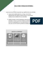 La Empresa Proceso Administrativo