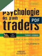 Psychologie Des Grands Traders - Thami Kabbaj