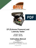 OFITE EP Lubricity Tester 112-00