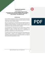 Informe Del Primer Foro Internacional Del Agua