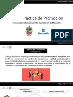 Buena Práctica de Promoción , Convenio Con H. Ayuntamiento de Manzanillo