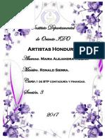 Artistas Hondureños