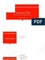 curriculum chat 11-7