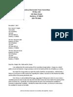 DDTC letter re