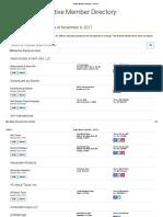 Active Member Directory - USTOA