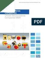 WEG Seccionadoras Compactas Msw 50036516 Catalogo Portugues Br
