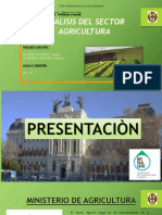 Sector Agricultura