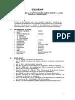 Matriz Plan Contingencia Lluvias e Inundaciones 2017