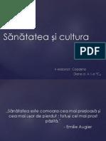 Sănătatea Și Cultura
