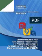 Guia Metodologica Facilitador Profocom