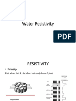 Water Resistivity