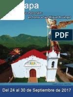 Programa de Fistas Patronales Guazapa