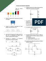 Examen de Sistemas Digitales