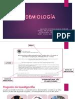 Epidemiologia Articulo