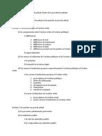 plan de procédure pénal