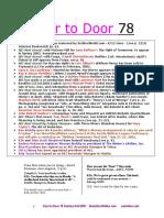 Kenneth Atchity's Door to Door