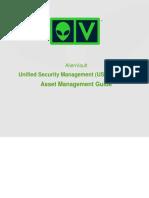 AlienVault USM 5.1 5.2 Asset Management Guide.docx