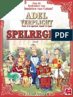 Adel Verplicht Boardgame