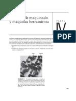 Introduccion IV Procesos de Maquinado