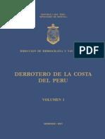 Derrotero de La Costa Del Peru Volumen I