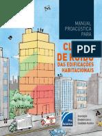 Manual ProAcústica Para Classe de Ruído Das Edificações Habitacionais