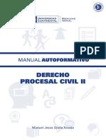 A0131 Derecho Procesal Civil II MAU01
