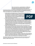 2017 mathematics curriculum framework