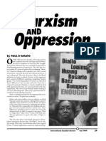 Marxism and Oppression
